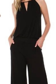 Vava by Joy Hahn Black Halter Jumpsuit - Product Mini Image