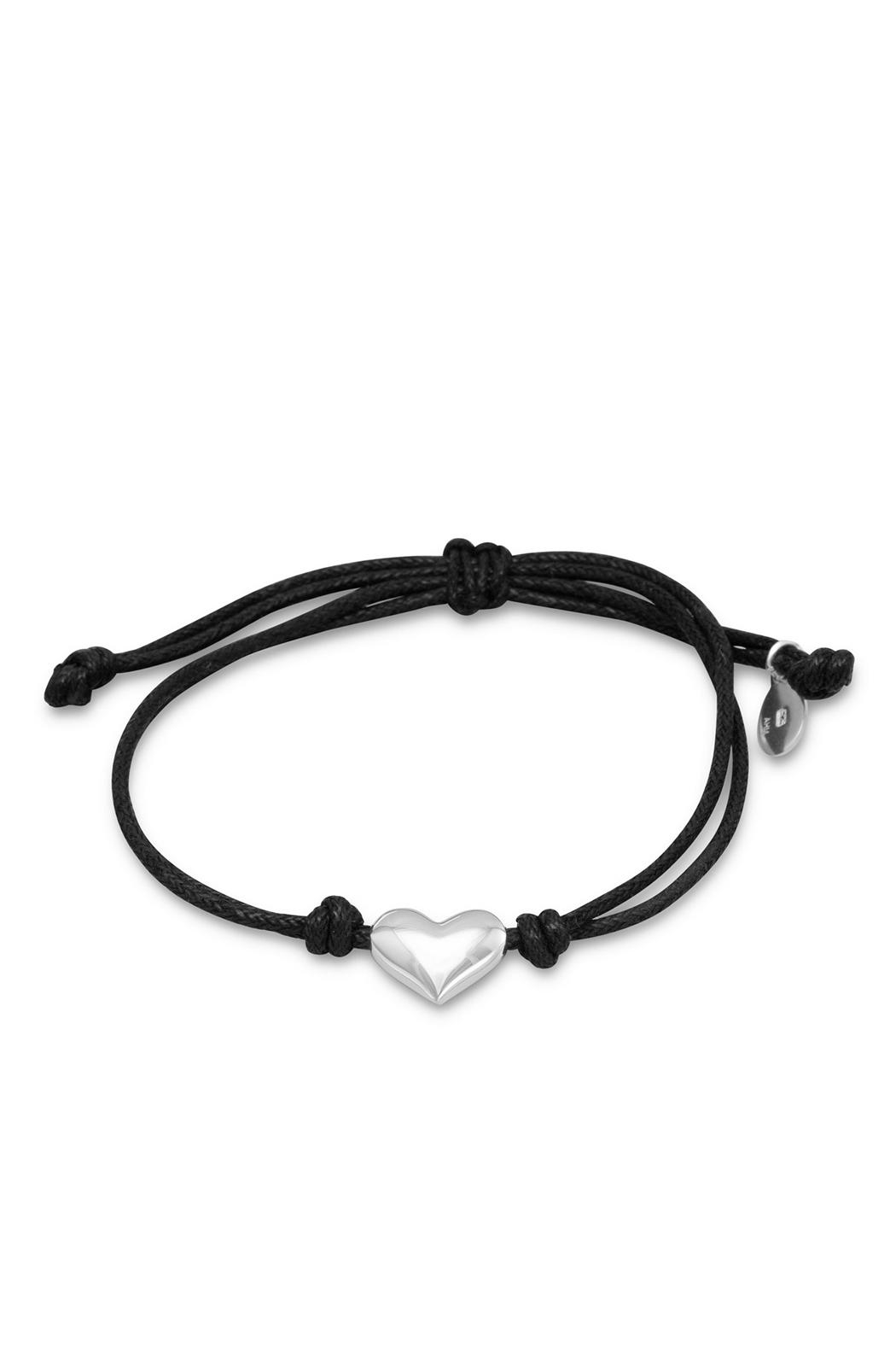 Wild Lilies Jewelry  Black Heart Bracelet - Main Image