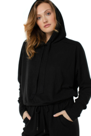 Liverpool Black Hoodie - Front cropped