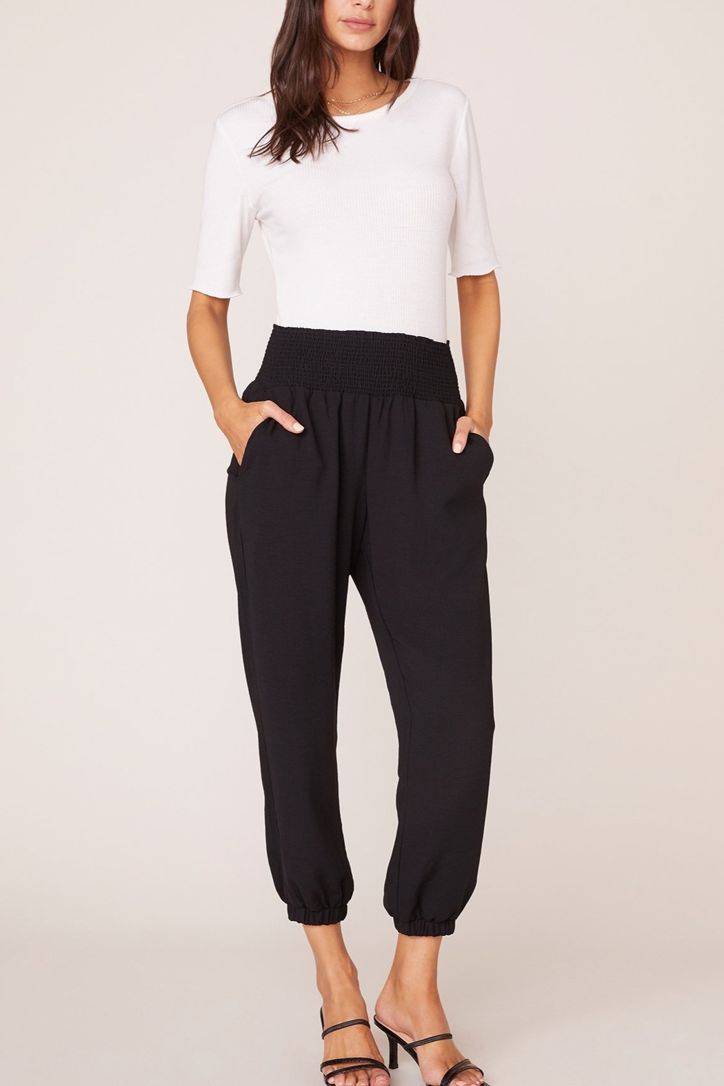 Jack by BB Dakota Black Jogger Pant - Main Image