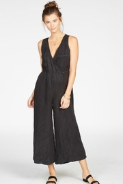 Knot Sisters Black Jumpsuit - Front cropped