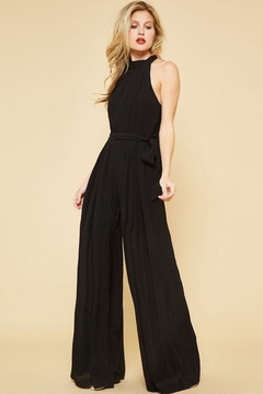 Promesa Veronica Black Jumpsuit - Product List Image