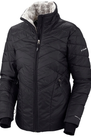 Columbia Sportswear Black Kaleidaslope Jacket - Product Mini Image
