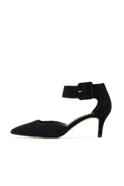 Pelle Moda Black Kitten Heel - Product Mini Image
