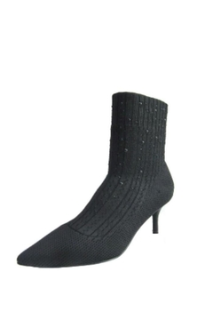 Shoptiques Product: Black Knit Boot
