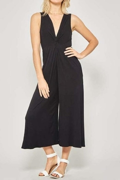 Promesa Black Knot Jumpsuit - Product List Image