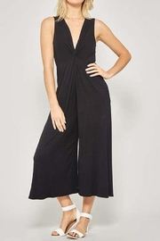 Promesa Black Knot Jumpsuit - Product Mini Image