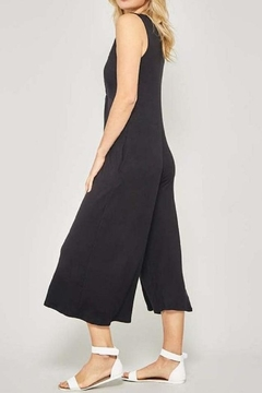 Promesa Black Knot Jumpsuit - Alternate List Image
