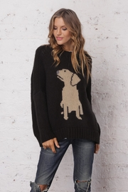Wooden Ships Black Lab Sweater - Product Mini Image