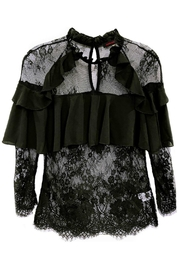 Fashion Week Black Lace Blouse - Product Mini Image