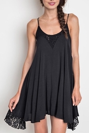 People Outfitter Black Lace Dress - Product Mini Image