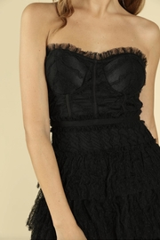 Wild Honey Black Lace Dress - Side cropped