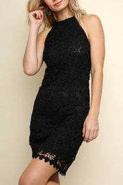 Izzie's Boutique Black Lace Dress - Product Mini Image