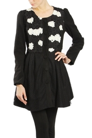 The Vintage Valet Black Lace Jacket - Product Mini Image