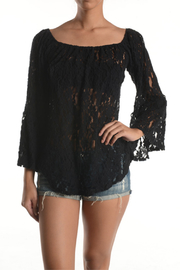 T Party Black Lace Ruffle OTS - Product Mini Image