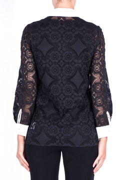 Max Mara Black Lace Shirt - Alternate List Image