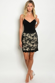 People Outfitter Black Lace Skirt - Product Mini Image