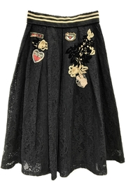 Fashion Week Black Lace Skirt - Product Mini Image