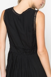 Monoreno Black Lace Tank - Front full body