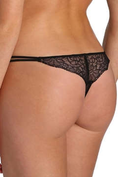 Marie Jo Black Lace Thong - Alternate List Image