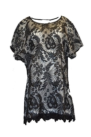Beta's choice Black Lace Top - Product Mini Image