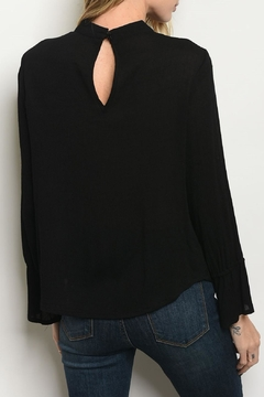 Roly Poly Black Lace Top - Alternate List Image