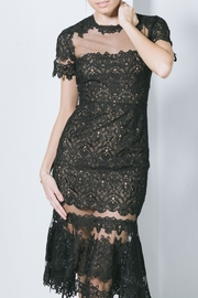 Jonathan Simkhai Black Lace Tulle - Product Mini Image