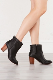 TOMS Black Leather Bootie - Product Mini Image