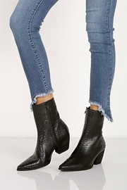 Matisse Black Leather Bootie - Product Mini Image