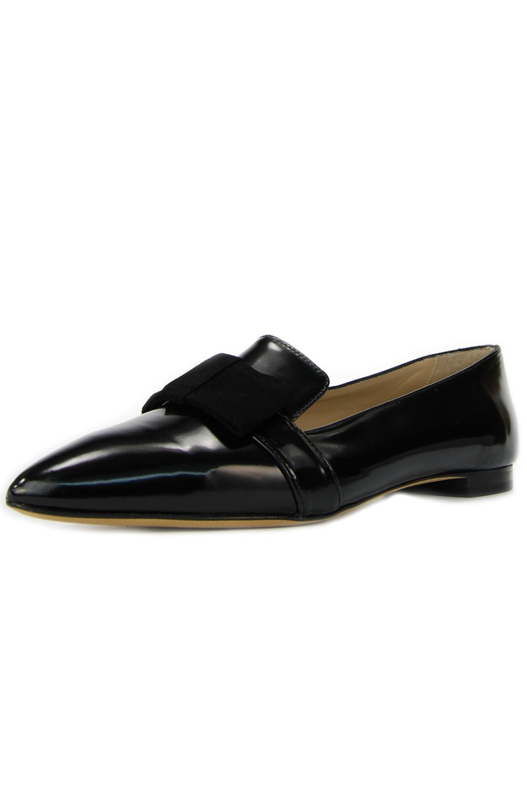 Cenedella  Black Leather Loafer - Main Image