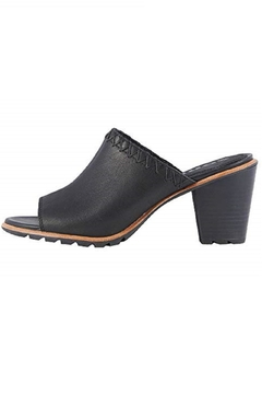 Sorel Black Leather Sandal - Product List Image