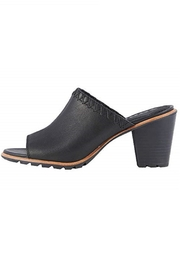 Sorel Black Leather Sandal - Product Mini Image