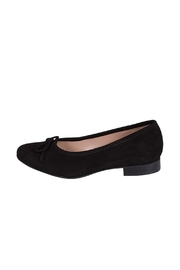 Pascucci Black Leather-Suede Ballerinas - Product Mini Image