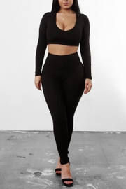 TIMELESS Black Leggings - Product Mini Image