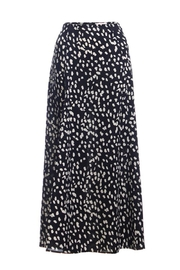 Renamed Clothing Black Leopard Skirt - Product Mini Image