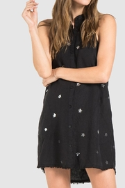 Bella Dahl Black Linen Dress - Product Mini Image