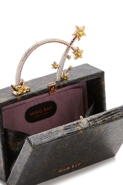 Ming Ray Black Lizard Clutch - Other