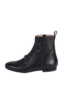Shoptiques Product: Black Loafer Ankle-Boot