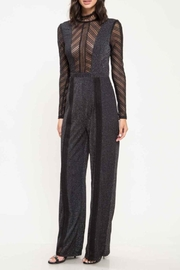 Latiste Black Long-Sleeve Jumpsuit - Product Mini Image