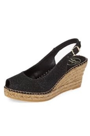 Toni Pons Black Low Wedge - Product Mini Image