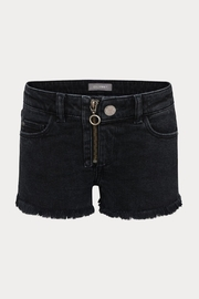 DL 1961 Black Lucy Shorts - Front cropped