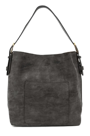 Joy Accessories Black Lux Hobo - Product Mini Image