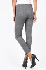Kut from the Kloth Black Marble Pants - Front full body