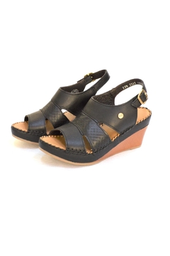 Lobo Solo Black Mariela Wedge - Product List Image