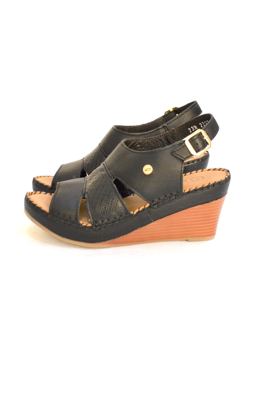Lobo Solo Black Mariela Wedge - Side Cropped Image