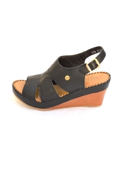 Lobo Solo Black Mariela Wedge - Back cropped
