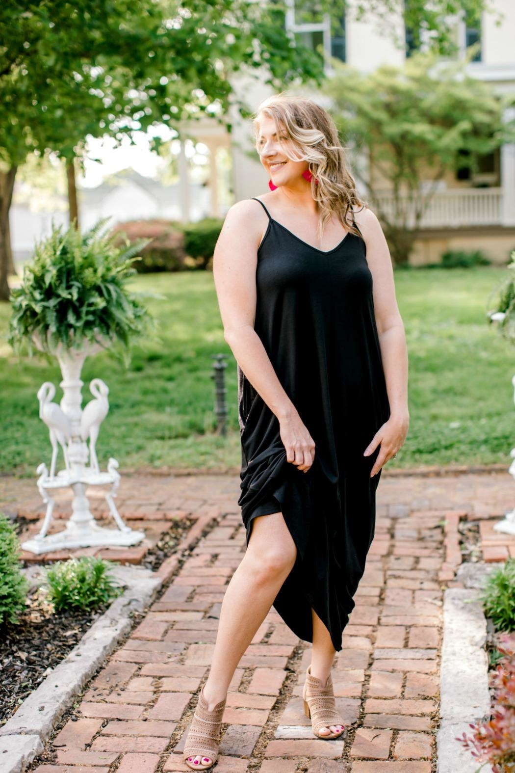 Izzie's Boutique Black Maxi - Front Full Image