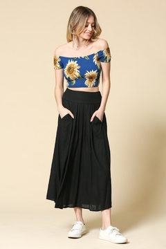 Illa Illa Black Maxi Skirt - Product List Image