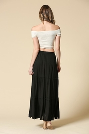 Illa Illa Black Maxi Skirt - Side cropped