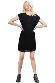 Rock Etiquette Black Mesh Dress - Product Mini Image